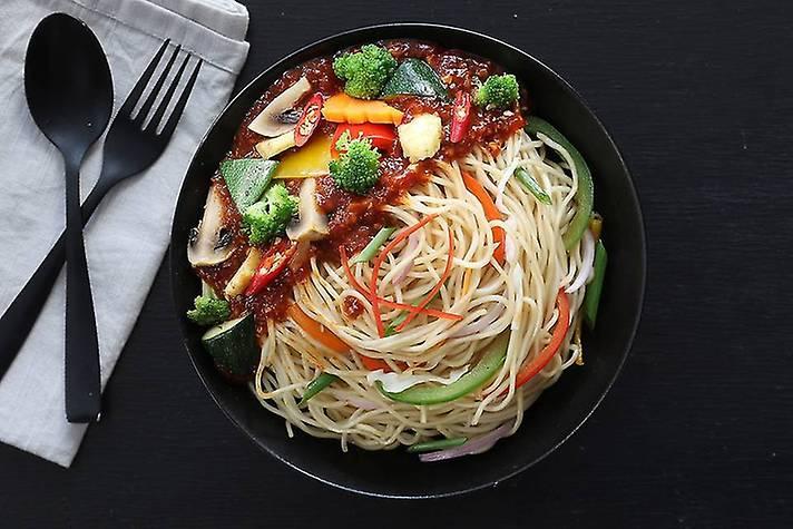 Chilli Bean Veggies 'n'  Noodles