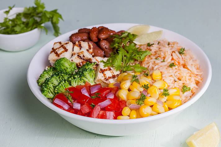 Image result for Mexican Burrito Bowl