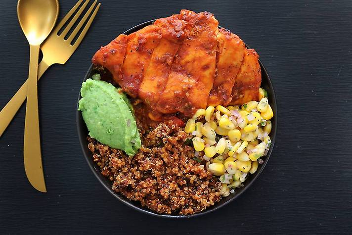 Peri-Peri Chicken Quinoa Super Bowl