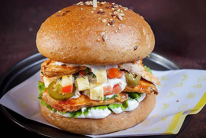 FM Signature Chicken Burger